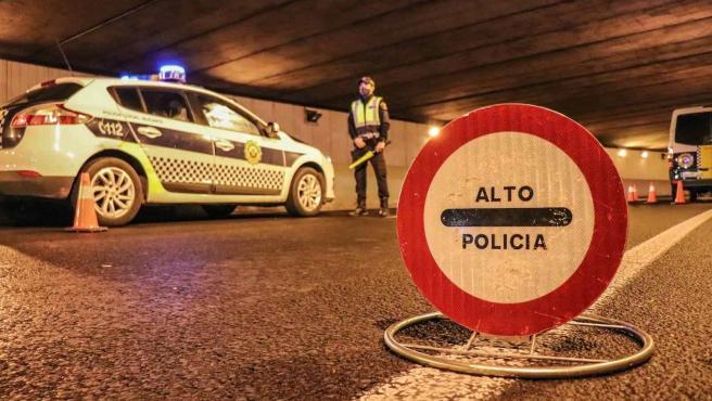 Control de la Policía Local de Alicante
