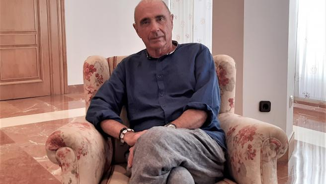 El cantante y escritor Lluís Llach