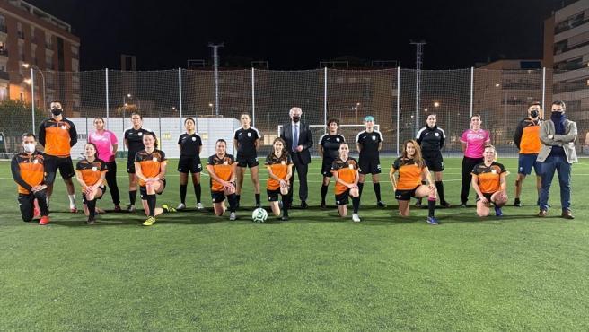 El CF Internacional de Granada trabaja por la igualdad en el fútbol femenino