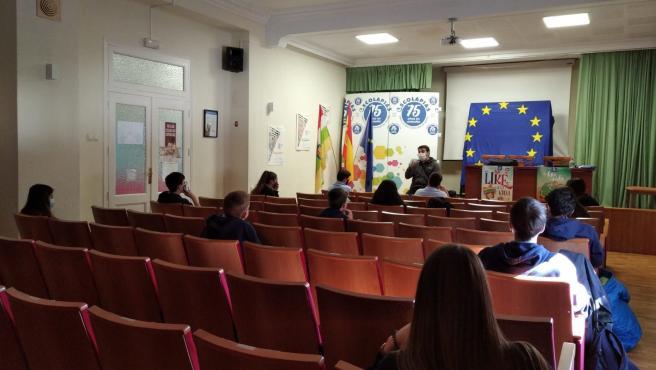 El colegio Inmaculado Corazón de María ha sido el único centro logroñés calificado Como Escuela Mentora del Parlamento Europeo