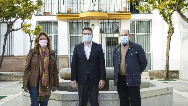 El portavoz de Ciudadanos en el Ayuntamiento de Palomares del Río (Sevilla), Manuel Benjumea