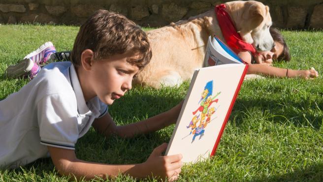 Imagen de recurso de un niño con autismo.