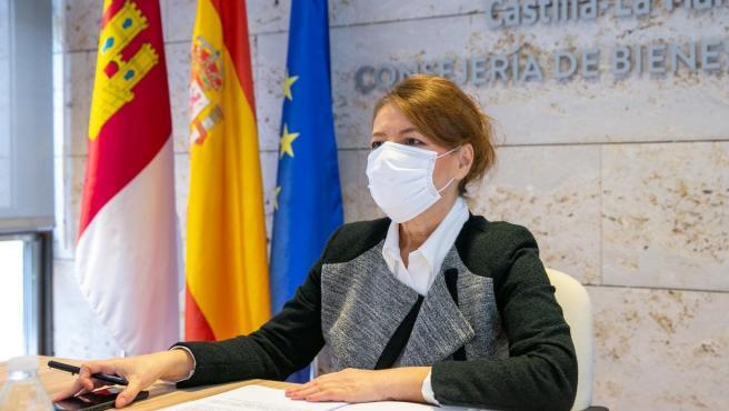 La consejera de Bienestar Social, Aurelia Sánchez.