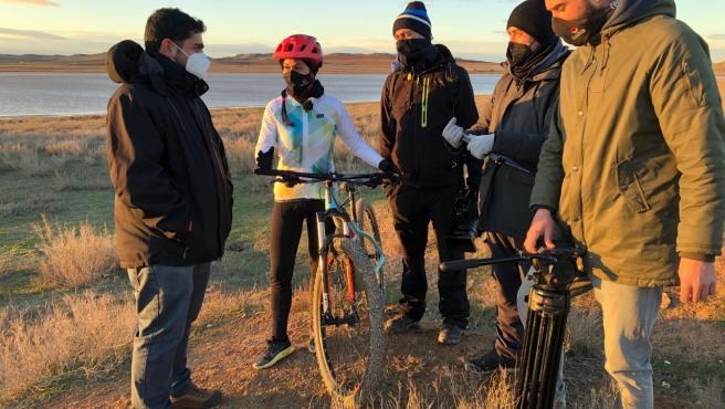 La DPT vuelve a patrocinar una ruta por el Bajo Aragón y el Matarraña en la serie internacional 'Senderos del mundo'.