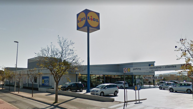 Imagen de un supermercado de la cadena Lidl.