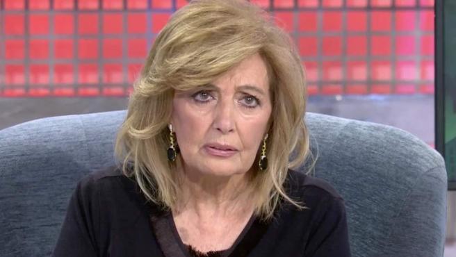 María Teresa Campos, en 'Sábado Deluxe'.
