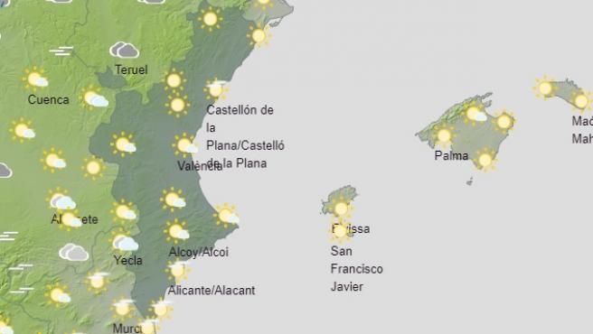 Predicción del tiempo para este domingo, 31 de enero