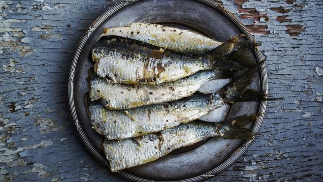 Las sardinas son un pescado azul muy ricas en omega y muy cardiosaludables.
