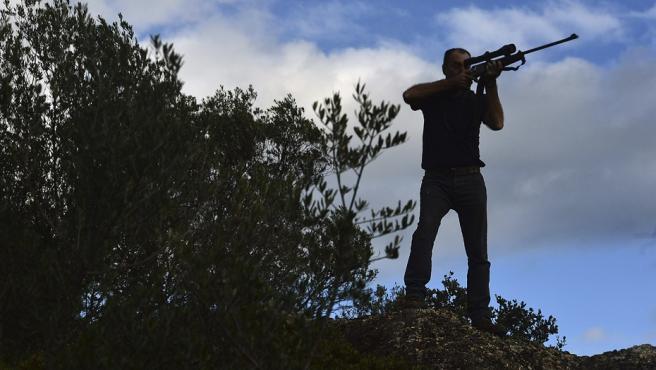 Un cazador, en una imagen de archivo.