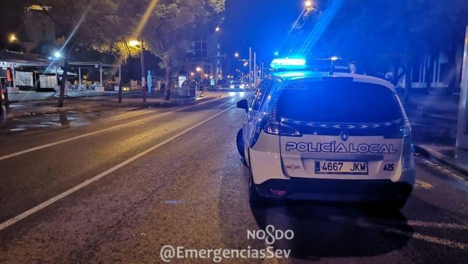 Vehículo de la Policía Local de Sevilla