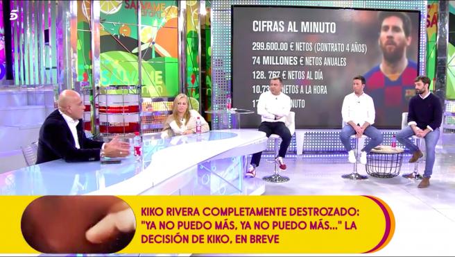 Kiko Matamoros y Belén Esteban se enfrentan en 'Sálvame'