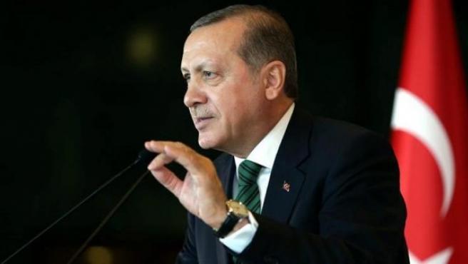El presidente de Turquía, Recep Tayyip Erdogan, en una imagen de archivo.
