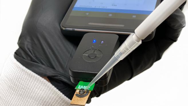 Test de coronavirus desarrollado por De la Fuente.