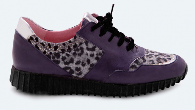 Las primeras zapatillas del mundo con piel de cactus.
