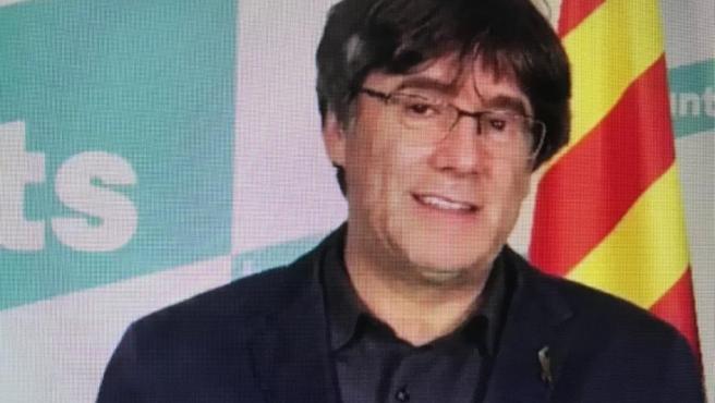 """Puigdemont ve a ERC buscando la medalla de """"hombres de Estado"""" y vindica los 'no' de Junts"""