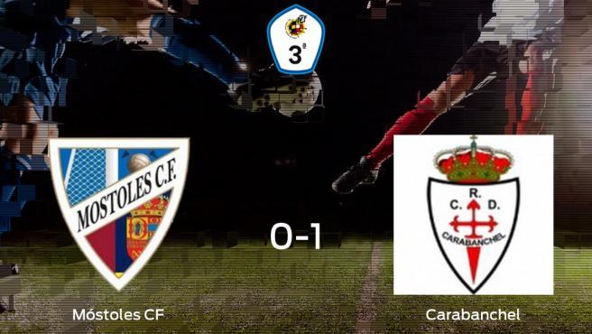 El Real Carabanchel vence 0-1 en casa del Móstoles CF