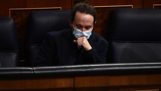 El vicepresidente del Gobierno y ministro de Derechos Sociales y Agenda 2030, Pablo Iglesias.