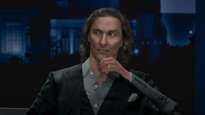 Matthew McConaughey en el anuncio de Doritos