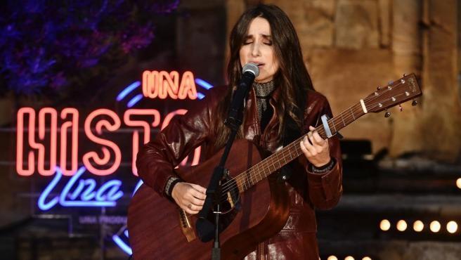 Zahara actúa en 'Una historia, una canción'.
