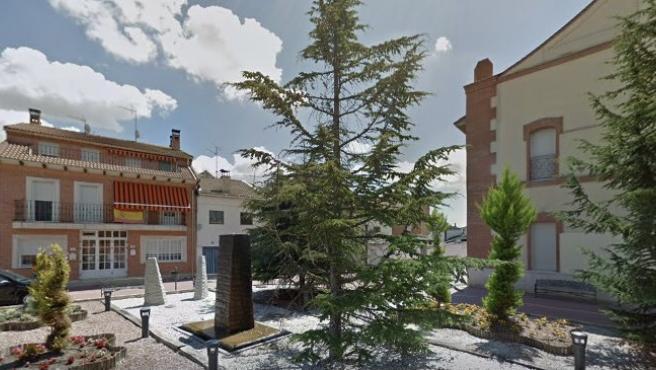 Una calle del municipio vallisoletano