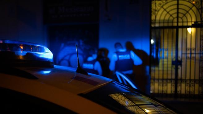 Detención realizada por los Mossos d'Esquadra, en una imagen de archivo.