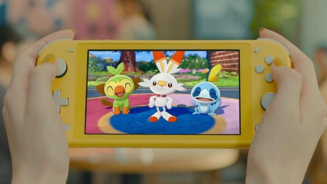 'Pokémon Espada y Escudo'.