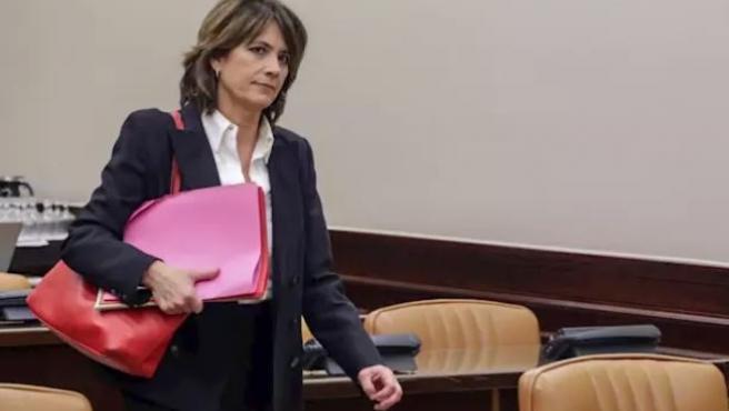 Comparecencia de Dolores Delgado en la Comisión de Justicia del Congreso de los Diputados.