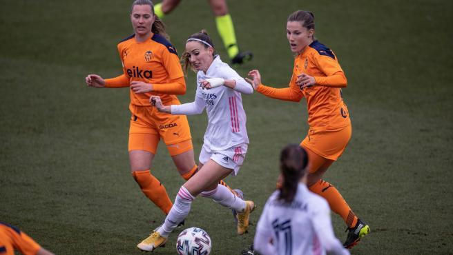 Kosovare Asllani, en el Real Madrid - Valencia