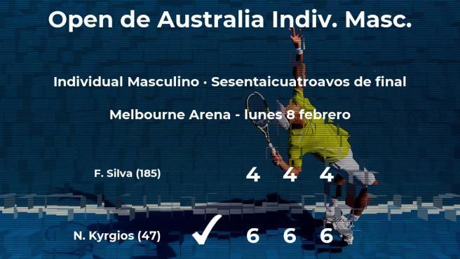 Nick Kyrgios pasa a los treintaidosavos de final del Open de Australia