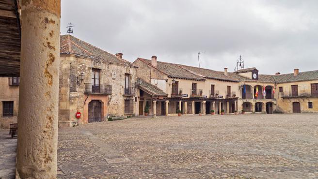 Plaza Mayor de Pedraza, en Segovia.