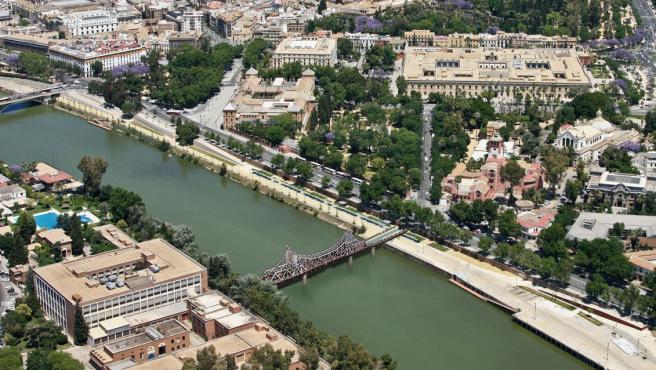 Sevilla.- Cs apoya reutilizar el puente de Alfonso XIII como pasarela, valora la idea de 'Planuente' y pide un acuerdo