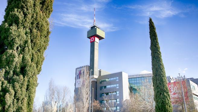 Imagen de recurso del edificio de Telemadrid en la Calle de Paseo del Príncipe, en la Ciudad de la Imagen.
