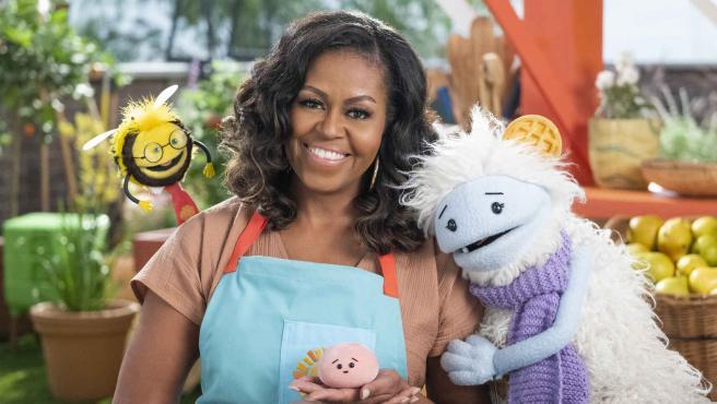 Michelle Obama en 'Gofre + Mochi'.