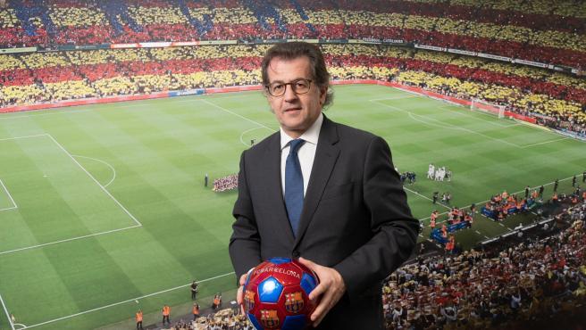 Toni Freixa, candidato a la presidencia del FC Barcelona