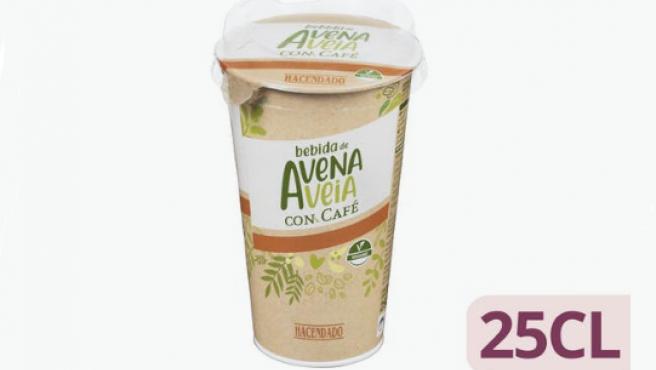 Bebida de avena con café Hacendado
