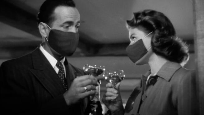'Casablanca' con mascarilla