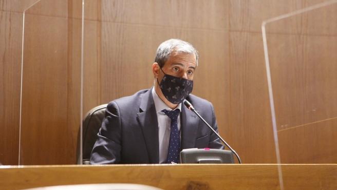 El diputado de Cs Aragón Javier Martínez.