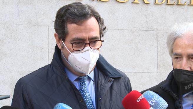 Garamendi dice que su vocación es intentar consenso y acuerdo en Ley de 'riders