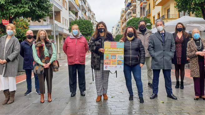 Presentación de la campaña para el comercio local de Los Remedios