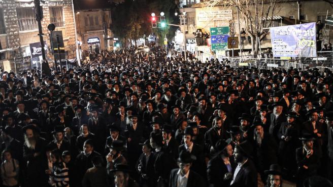 Protestas contra las restricciones por la covid-19 en Jerusalén