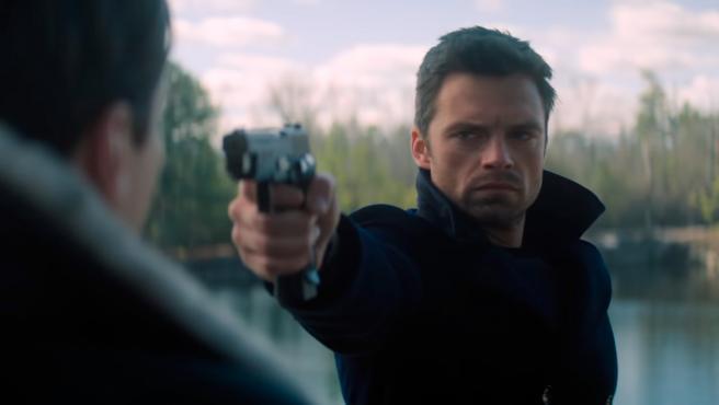 Sebastian Stan como Bucky Barnes