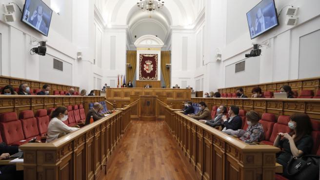 20210211 Pleno de las Cortes de Castilla-La Mancha
