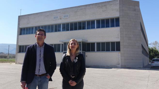 El alcalde de Ontineynt, Jorge Rodríguez , y laprimear teniente de Alcalde , Natàlia Enguix (archivo)