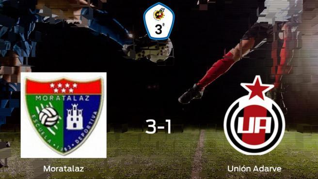 El Moratalaz vence 3-1 frente al Unión Adarve