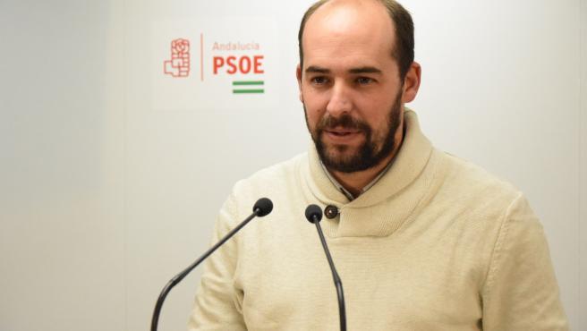 El secretario de Organización del PSOE de Málaga, Javier Jerez,