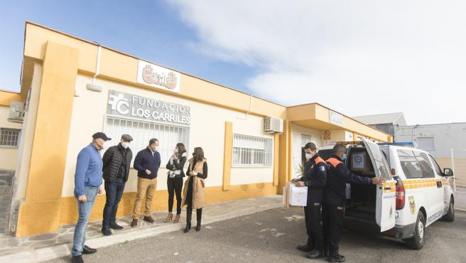 La Diputación de Almería entrega mascarilla a asociaciones de la provincia