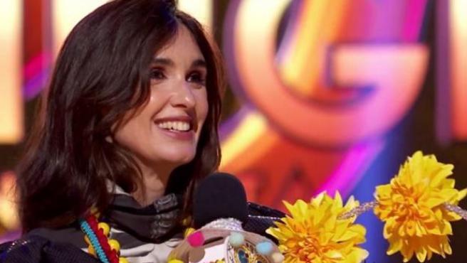 Paz Vega, ganadora de la primera edición de 'Mask Singer'.