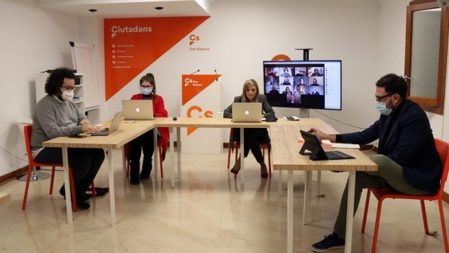 Reunión del comité autonómico de Cs Baleares.