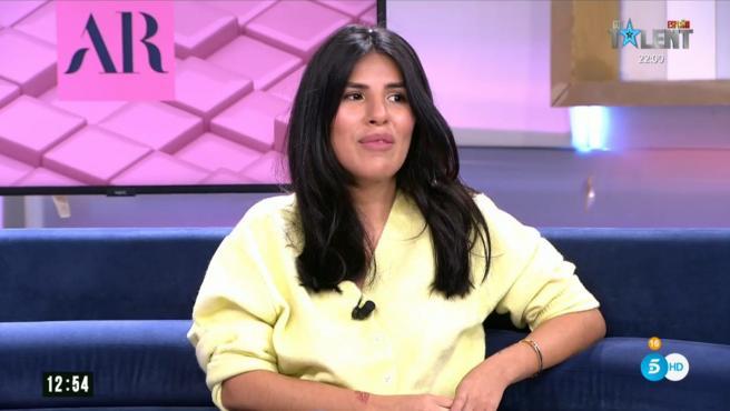 Isa Pantoja, colaboradora de 'El programa de Ana Rosa'.