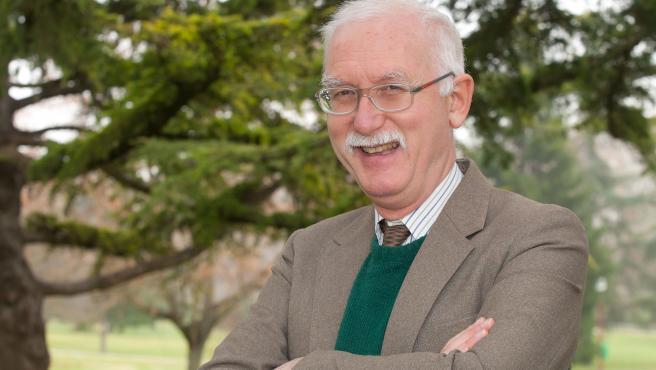 Andrew Charles Breeze, profesor del departamento de Filología de la Universidad de Navarra